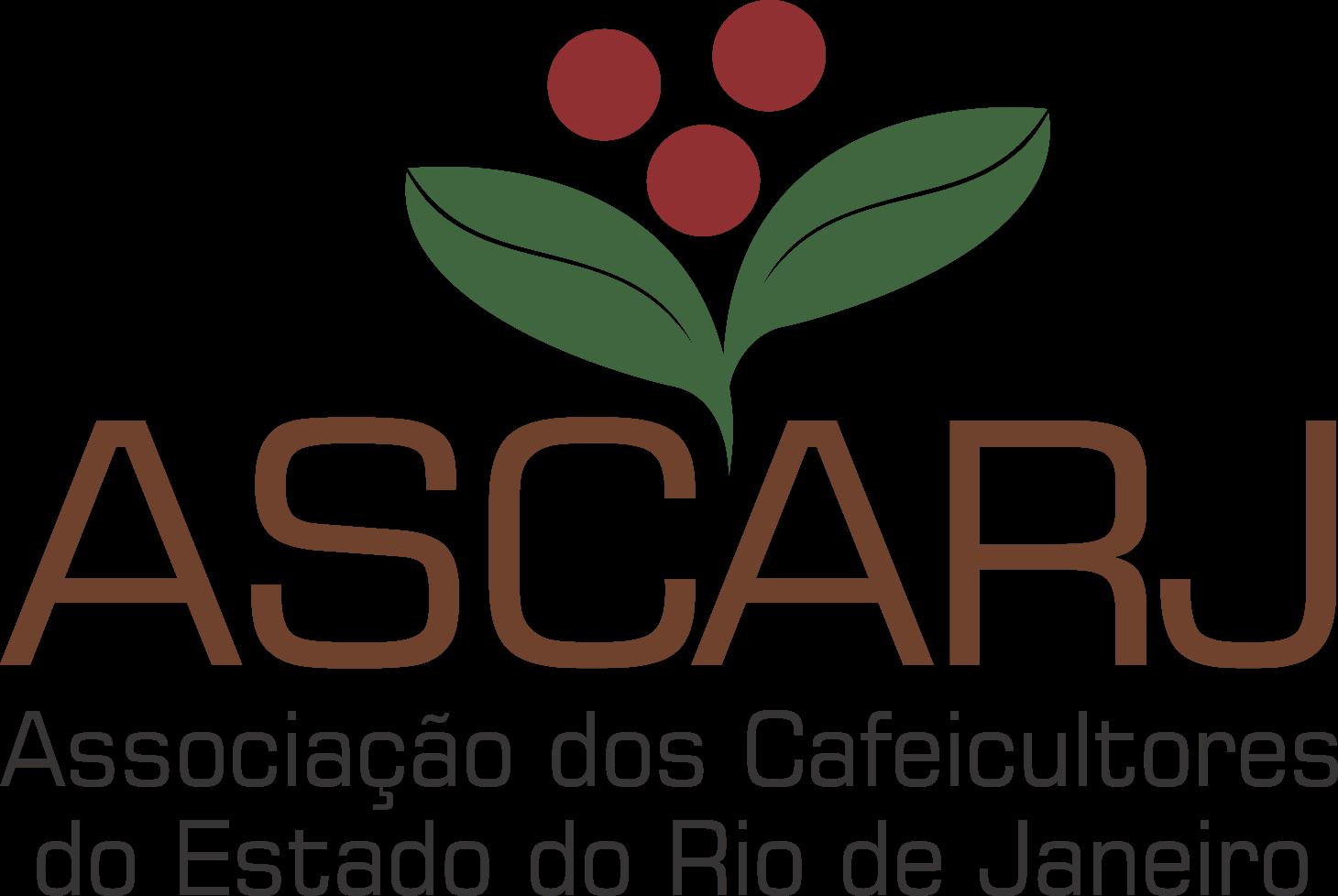 Logotipo ASCARJ - Associação dos Cafeicultores do Estado do Rio de Janeiro