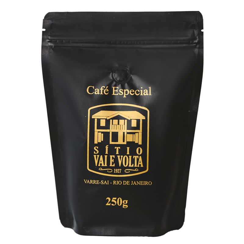 Café Especial Sítio Vai e Volta Encorpado - Torrado e Moído - 250g